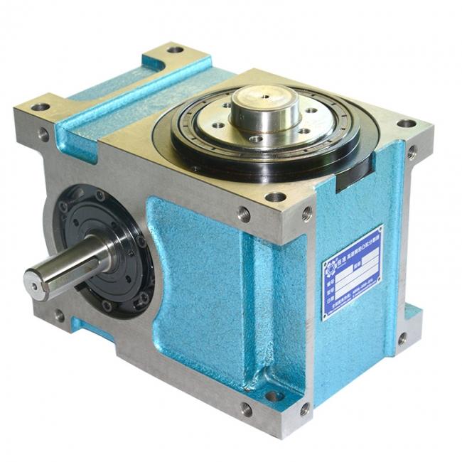 步进电机带动凸轮分割器正反转的设制方法